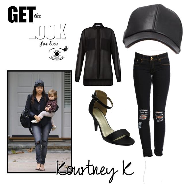 get the look kourtney k