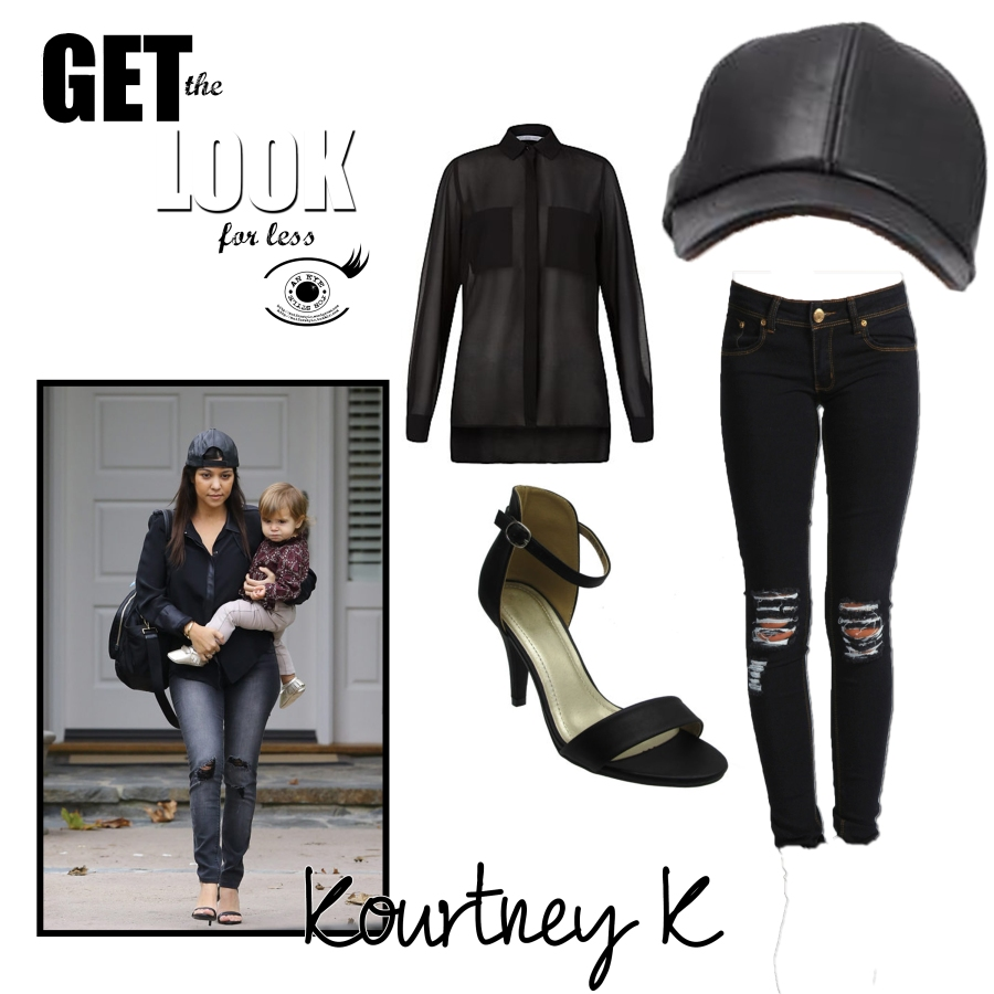 get the look kourtney k