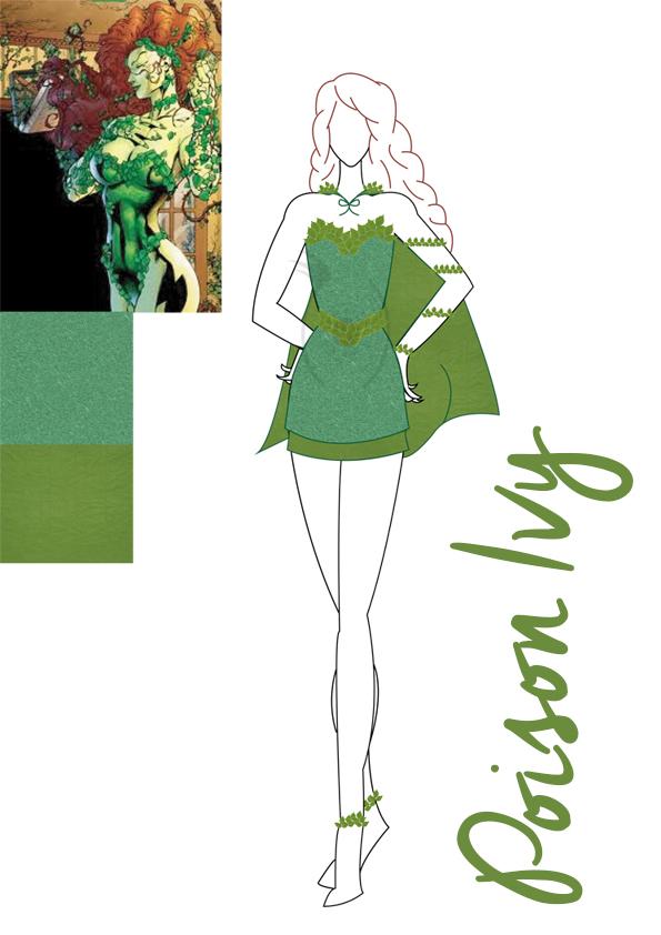 poison ivy costume copyright
