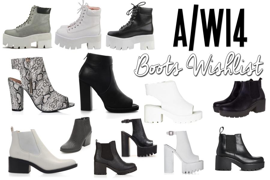 aw boots wishlist